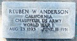 Reuben W Anderson