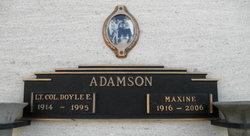 Maxine <i>Huber</i> Adamson