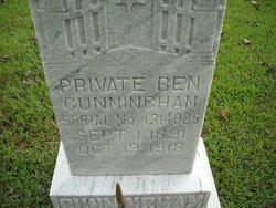 Pvt Ben Cunningham