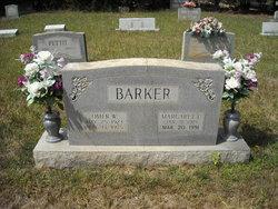 Margaret Louise <i>Gaddy</i> Barker