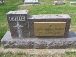 PFC Paul Joseph Guelig