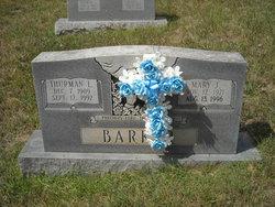 Mary Josephine <i>Penland</i> Barker