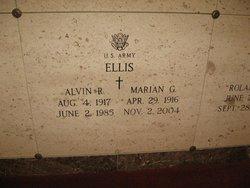 Marian Gertrude <i>LeClair</i> Ellis