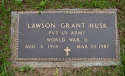 Lawson Grant Husk