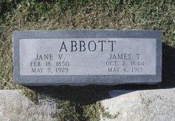 Jane Virginia Jennie <i>Taylor</i> Abbott