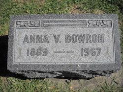 Anna V. Bowron
