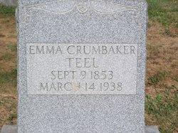 Emma <i>Crumbaker</i> Teel