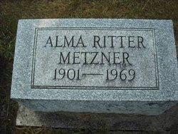 Alma Ritter Metzner