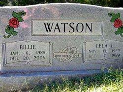 Lela Lodena Topsy <i>Clark</i> Watson