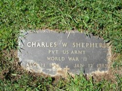 Charles William Charlie Shepherd