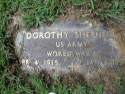 Dorothy <i>Wright</i> Shepherd