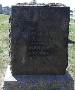Mary A Fox