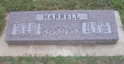 Ed Ervin Harrell
