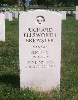 LTJG Richard Ellsworth Brewster