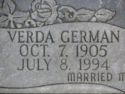 Verda Verene <i>German</i> Adell