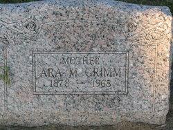 Ara M <i>Talkington</i> Grimm