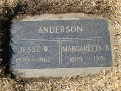 Margaretta B <i>McCloskey</i> Anderson