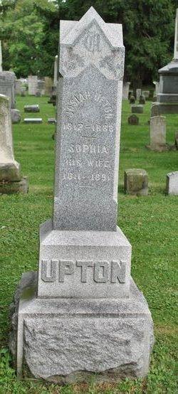 Mrs Sophia <i>Roe</i> Upton