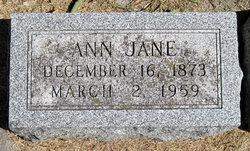 Anna Jane <i>Ward</i> Fillenwarth
