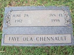 Faye Ola <i>Blanton</i> Chennault