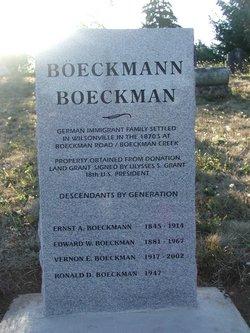 Edward W. Boeckman