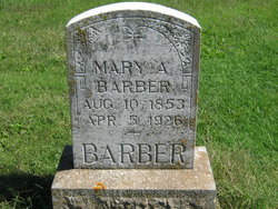 Mary A Barber