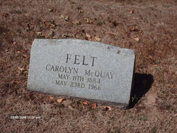 Carolyn <i>McQuay</i> Felt
