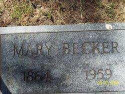 Mary <i>Vogel</i> Becker