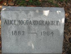 Alice <i>Hoggard</i> Granbery