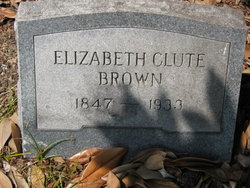 Elizabeth <i>Clute</i> Brown