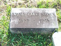 Emma Cora <i>Oller</i> Brown