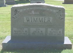 Agnes M Wimmer