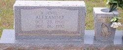 Alvin Jewell Alexander