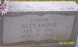 Corinta Lorene <i>Ferguson</i> Alexander