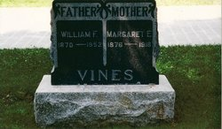 Mrs Margaret Ellen Maggie <i>Davis</i> Vines