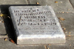 Herbert Thornburgh Worth