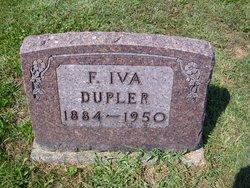 Frances Iva <i>Hoy</i> Dupler