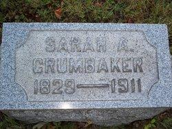 Sarah A. <i>Evans</i> Crumbaker