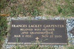 Frances <i>Lackey</i> Carpenter