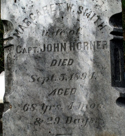 Margaret Witherow <i>Smith</i> Horner