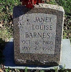 Janet Louise Barnes