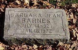 Barbara Jean Barnes