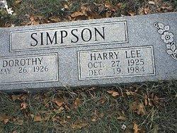 Harry Lee Simpson