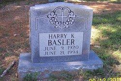 Rev Harry Kenneth Basler