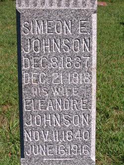Simeon E Johnson