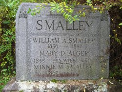 Mary D <i>Alger</i> Smalley