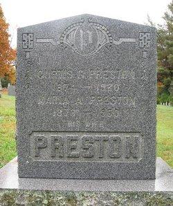 Maria A. <i>Pixley</i> Preston