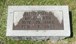 Benjamin Daniel Duckworth