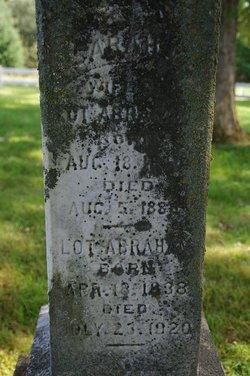 Sarah Cornelia <i>Alden</i> Abraham