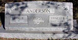 Opal <i>Blythe</i> Anderson